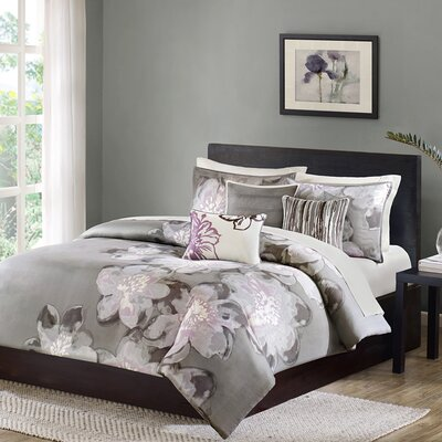 Serena 7 Piece Comforter Set Size: Queen
