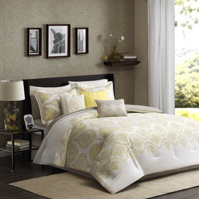 Libreto 7 Piece Comforter Set Size: Queen