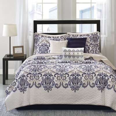 Cali 6 Piece Coverlet Set Size: King / California King