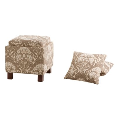 Shelley Square Storage Ottoman