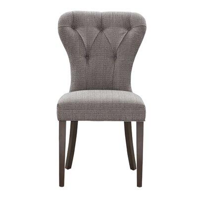 Jules Side Chair Upholstery: Charcoal/Black Noir