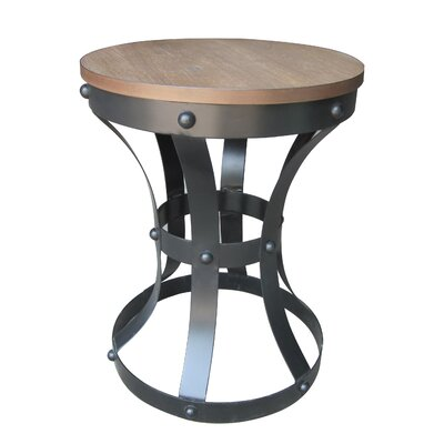 Ridge Rustic Pedestal Top Table