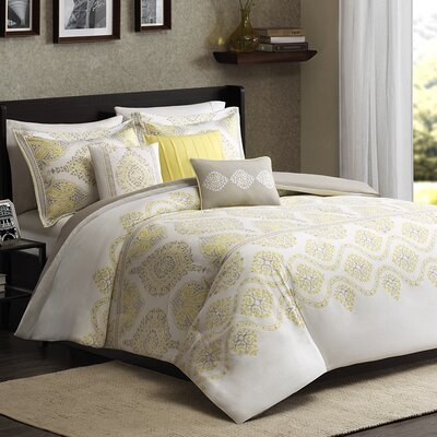 Libreto 6 Piece Duvet Cover Set Size: King