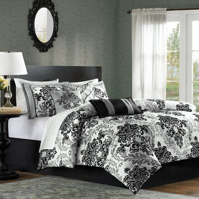 Bella 7 Piece Comforter Set Size: Queen