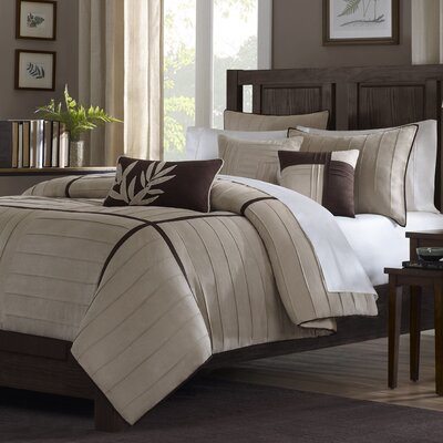 Dune 6 Piece Duvet Cover Set Size: King