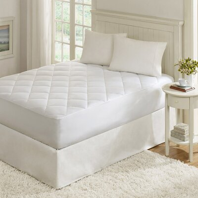 Quiet Nights 300 Thread Count Waterproof Mattress Pad Size: Twin
