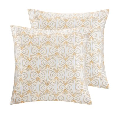 Broward Faux Silk Throw Pillow Color: Rose Gold