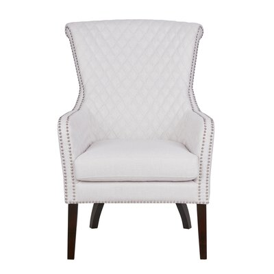 Busti Armchair Upholstery Color: White