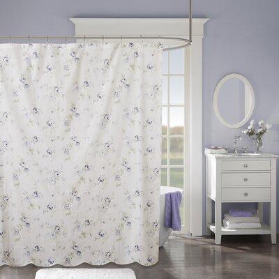 Parise 100% Cotton Shower Curtain
