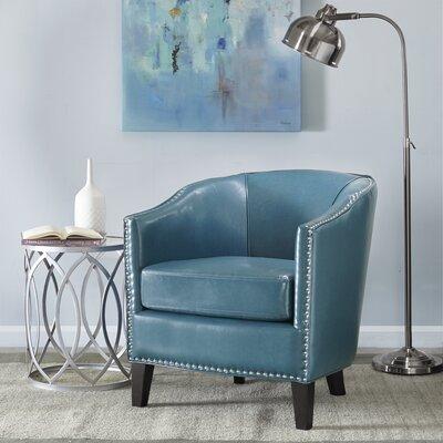 Fremont Barrel Chair Upholstery: Blue