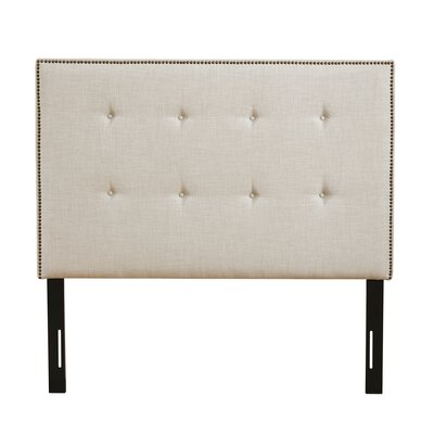 Enock King Upholstered Panel Headboard