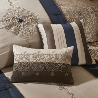 Chambord 7 Piece Comforter Set Size: King