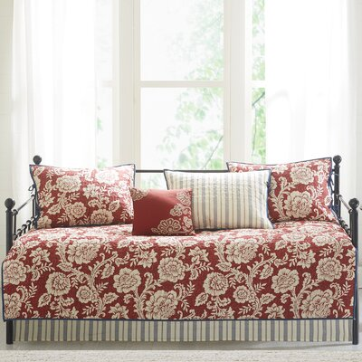 Cheshire Cotton 6 Piece Reversible Daybed Set