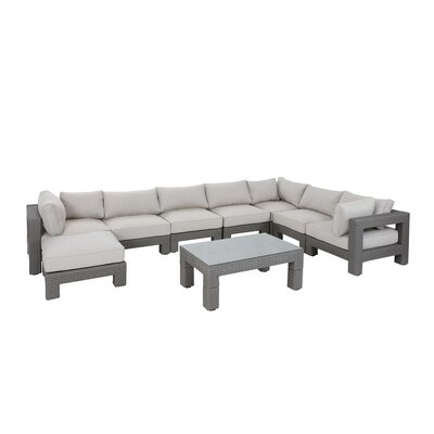 Danaher Outdoor Sectional Seating Group with Cushion