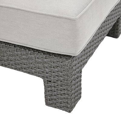 Danaher Outdoor Ottoman with Cushion
