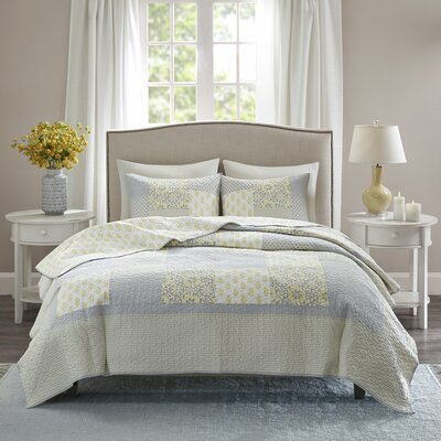 Culbane Cotton 3 Piece Coverlet Set Size: Full/Queen
