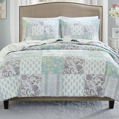 Parise 3 Piece Coverlet Set Size: King/California King