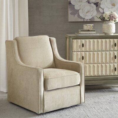 Krystin Armchair Upholstery: Cream