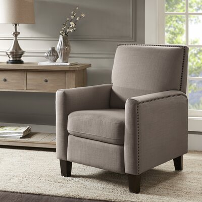 Brightling Manual Lift Assist Recliner Upholstery: Gray