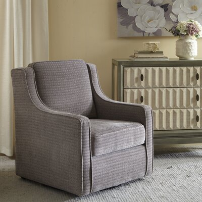 Krystin Armchair Upholstery: Grey