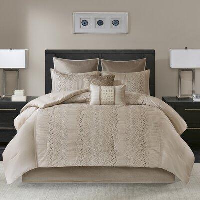 Nilsen 8 Piece Comforter Set Size: Queen
