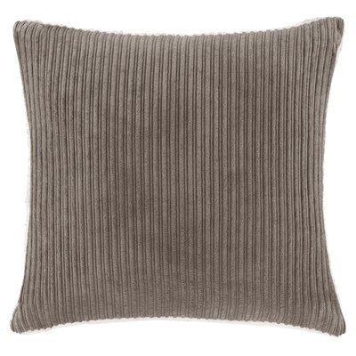 Carley Polyester Throw Pillow Color: Brown