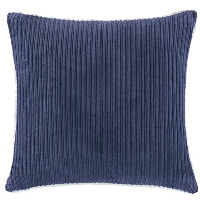 Carley Polyester Throw Pillow Color: Navy
