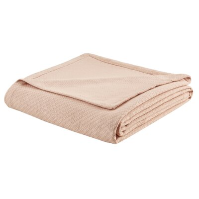 Jordana Liquid Cotton Blanket Size: Twin