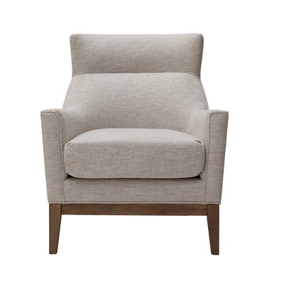 Somers Slat Back Armchair Color: Cream
