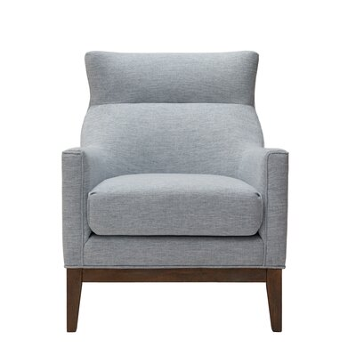 Somers Slat Back Armchair Color: Blue