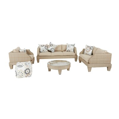 Dyana Sofa Set with Cushions