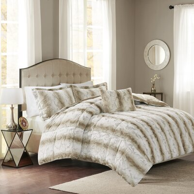 Atkins 4 Piece Comforter Set Size: King