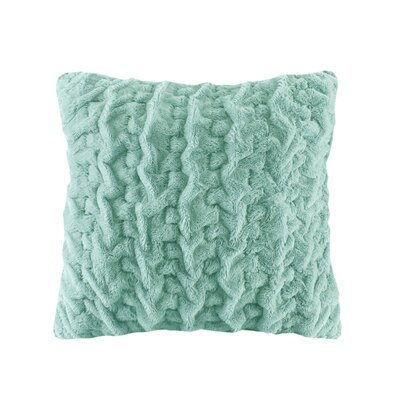 Renee Throw Pillow Color: Aqua