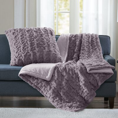 Renee Throw Color: Lavender