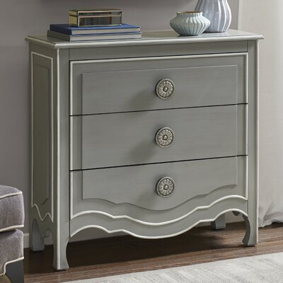 Michal 3 Drawer Dresser