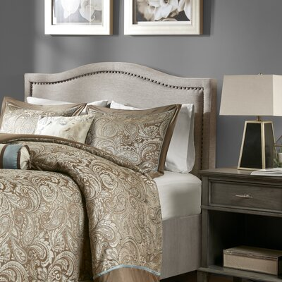 Byram Upholstered Panel Headboard Size: Queen