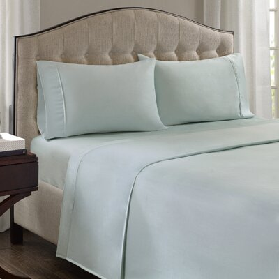 Fowler 1500 Thread Count 100% Cotton Blend Sheet Set Size: King, Color: Seafoam