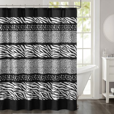 Naugatuck Printed Shower Curtain
