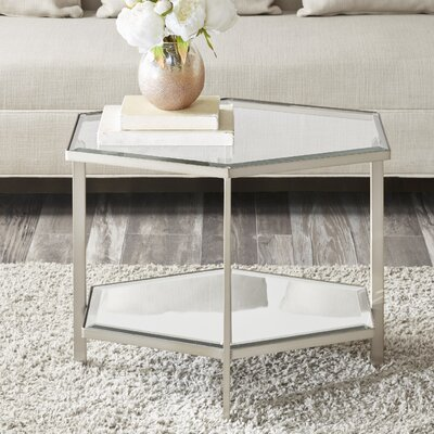 Kattan Bunching Table Color: Silver