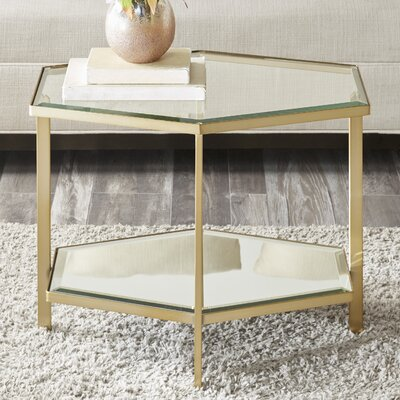 Kattan Bunching Table Color: Gold