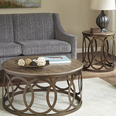 Bleich Round 2 Piece Coffee Table Set