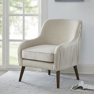 Jardine Armchair Upholstery: Cream