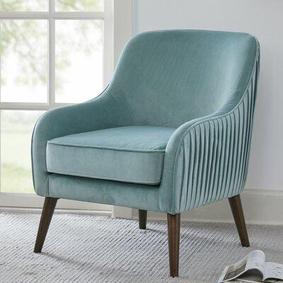 Jardine Armchair Upholstery: Green