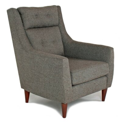 Eleanor Arm Chair Color: Ironside