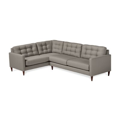 Harvard Sectional Upholstery: Earth, Orientation: Left Hand Facing