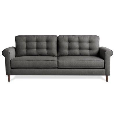 Jackie Sofa Upholstery: Charcoal