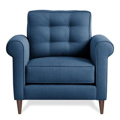 Jackie Armchair Upholstery: Navy