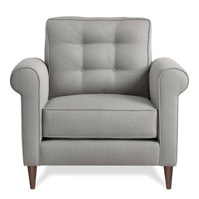 Jackie Armchair Upholstery: Pebble