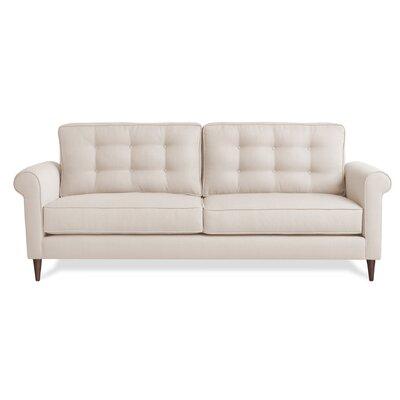 Jackie Sofa Upholstery: Ivory