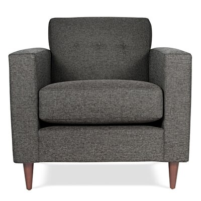 Jackson Arm Chair Upholstery: Charcoal